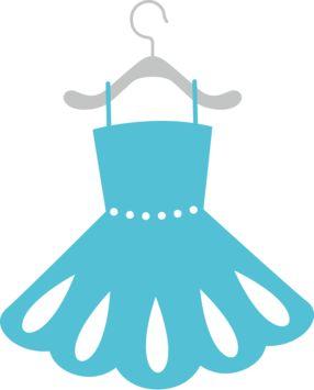 Dress clipart stencil Images BLUE about Clipart Pinterest