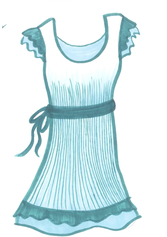 Blue Dress clipart Clip Art Free Art Clip
