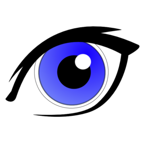 Blue Eyes clipart #7