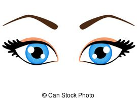 Blue Eyes clipart #9
