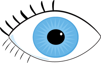 Blue Eyes clipart #2