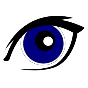 Blue Eyes clipart #6