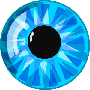 Blue Eyes clipart #5