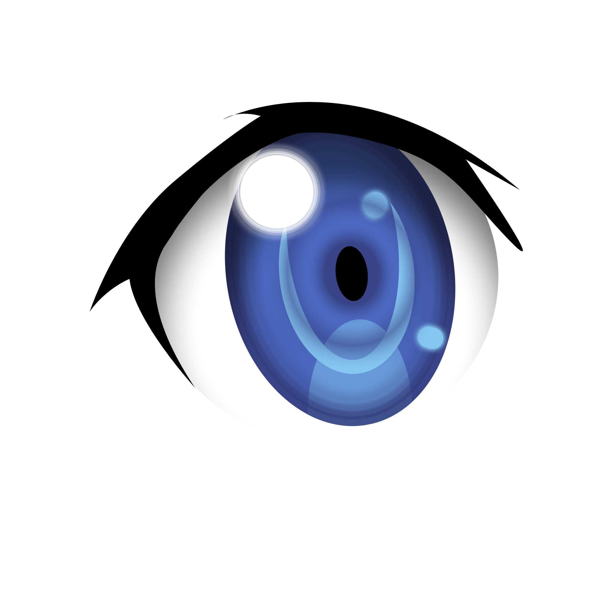 Blue Eyes clipart simple For the Unreal a for