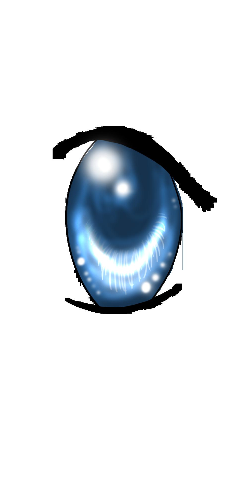 Blue Eyes clipart anime eye Tuari DeviantArt by x Anime