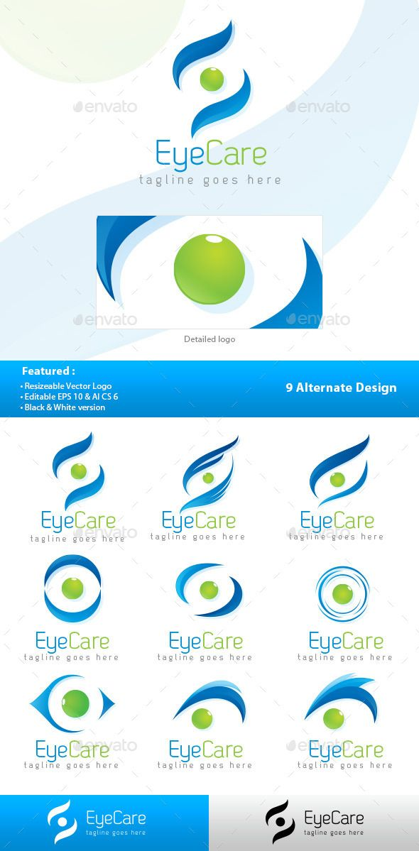 Blue Eyes clipart eye care Logo Care Eye best Marketing