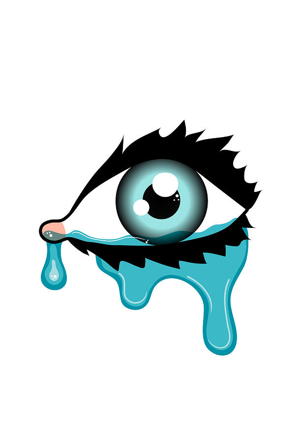 Blue Eyes clipart eye tear Of Cartoon Pictures Clip