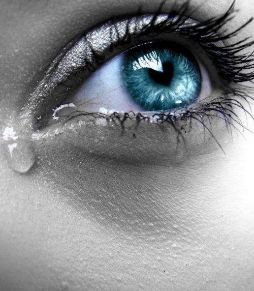 Blue Eyes clipart eye tear Spoiled my let best on
