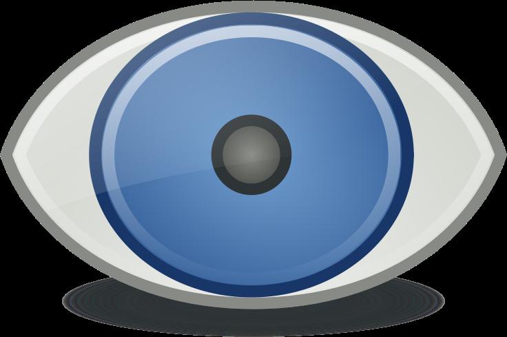 Blue Eyes clipart eyeball Clip Clip Public Free Eye