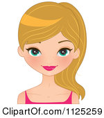 Blue Eyes clipart female With Clip Girl Download Blue