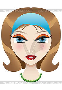 Blue Eyes clipart nose Girl blue Clipart blue with