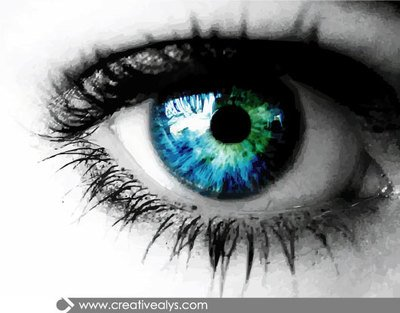 Blue Eyes clipart realistic Blue Eye Eyeball Eye Clipart