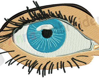 Blue Eyes clipart realistic Etsy embroidery eye design eye