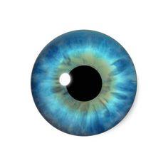 Blue Eyes clipart round eye Tumblr on Iris Custom vinyl