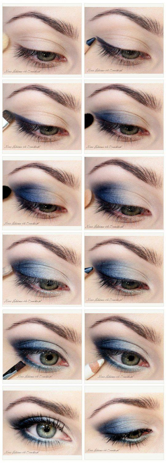 Blue Eyes clipart round eye On 25+ makeup eyed will