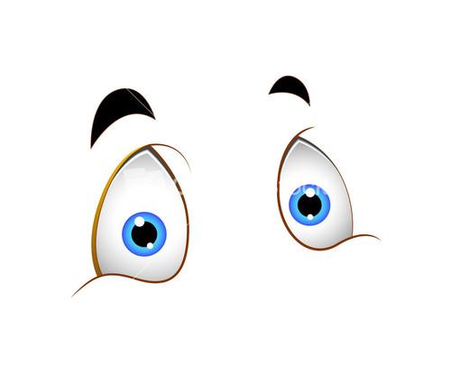 Blue Eyes clipart shock Eyes Cartoon Shocked Stock Shocked