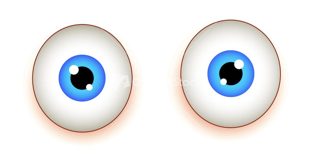 Blue Eyes clipart shock Image Shocked Stock  Eyes