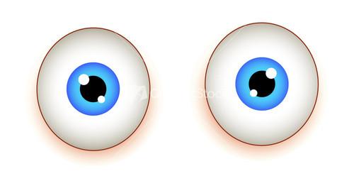 Blue Eyes clipart shocked eye Shocked Eyes Eyes Shocked Image