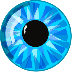 Blue Eyes clipart simple You Art Watching Art Eye