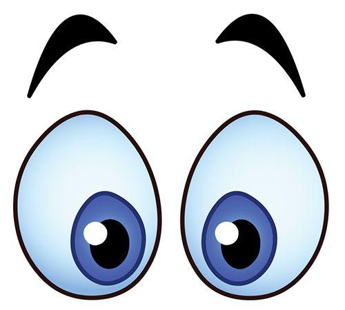 Blue Eyes clipart surprised eye Images 1268 Pinterest Emoji this