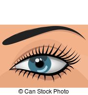Blue Eyes clipart woman eye Art blue Vector eyed a