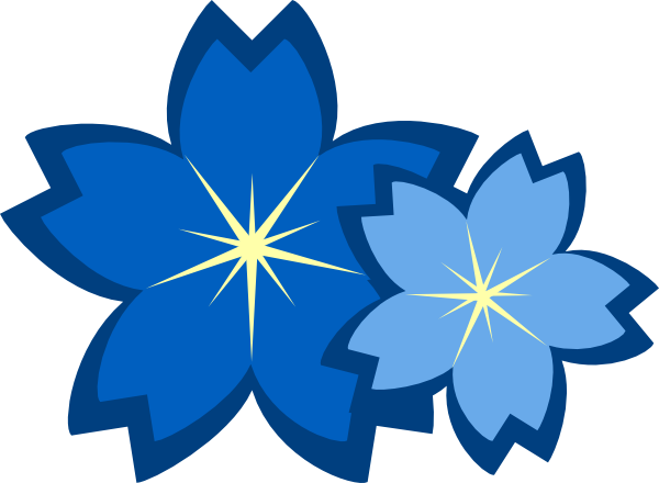 Wallpaper clipart blue flower Image images flower Blue #2419