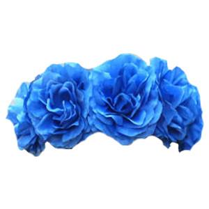 Blue Flower clipart crown Transparent transparent 300 blue background