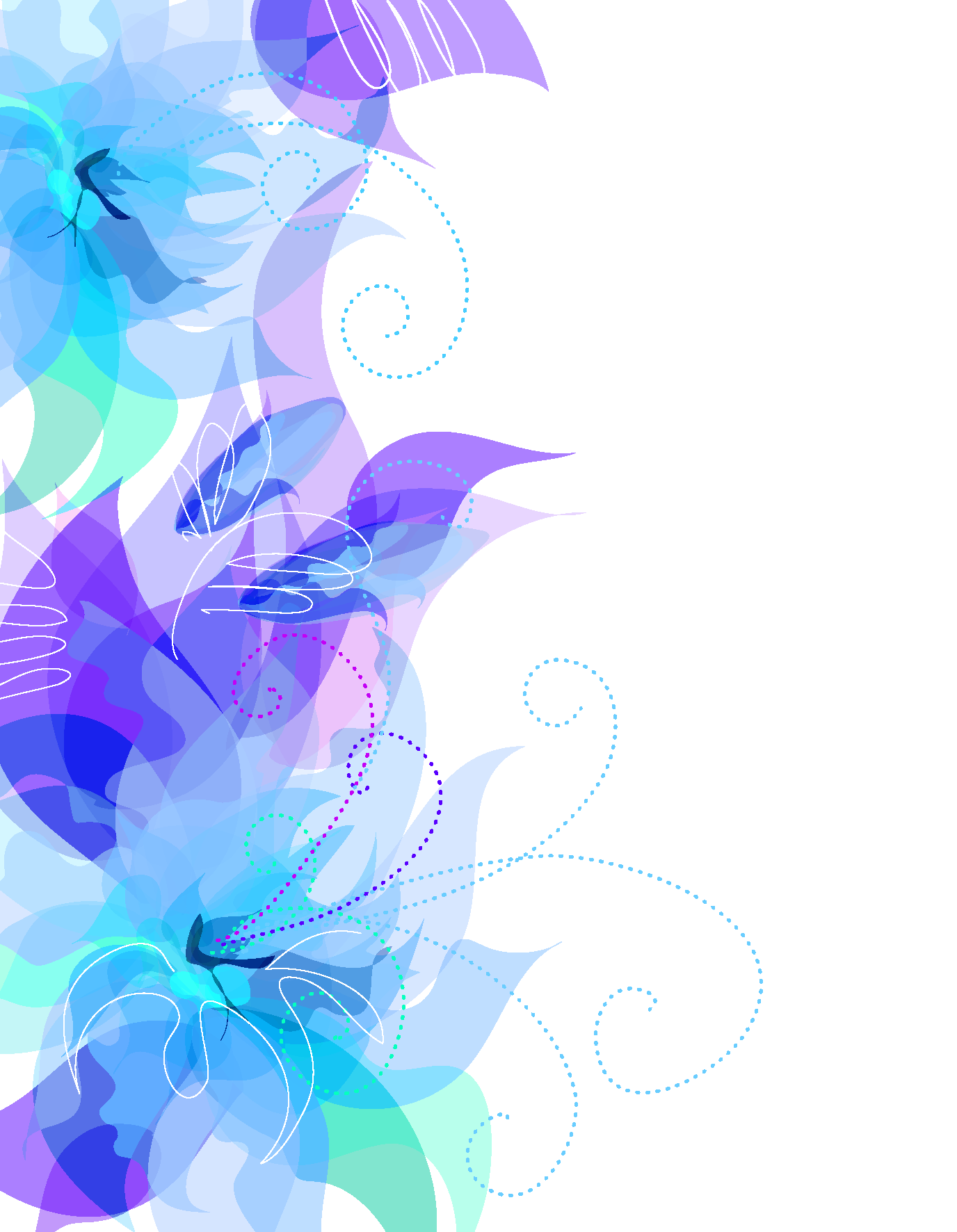 Blue Flower clipart decorative Gallery full size is available