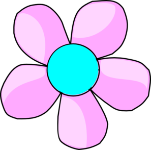 Blue Flower clipart flower head Art royalty online com vector