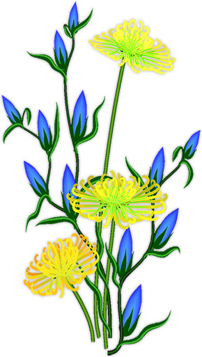 Yellow Flower clipart animated And yellow Butterflies Flowers Gifs