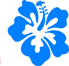 Blue Flower clipart lei flower Of clipart clipart flowers Lei