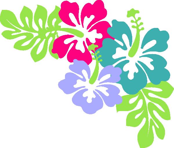 Blue Flower clipart lei flower Necklace Clipart Zone Flowers Lei