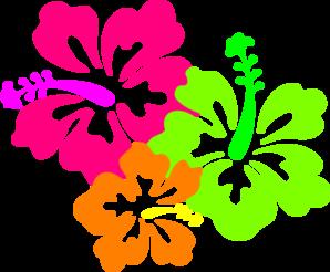 Blue Flower clipart lei flower Clipart lei Clipart Collection Hawaiian