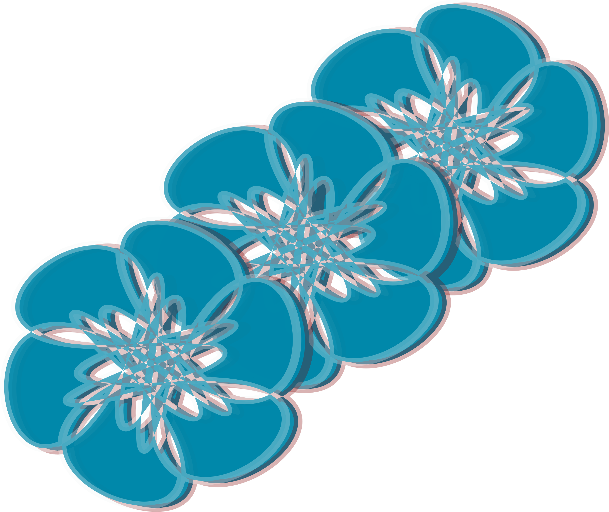 Blue Flower clipart teal flower Blue flowers flowers Clipart blue