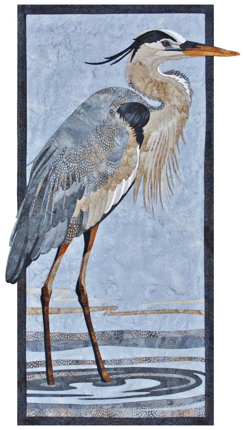 Blue Heron clipart shallow Great Pattern Toni Blue Quilt