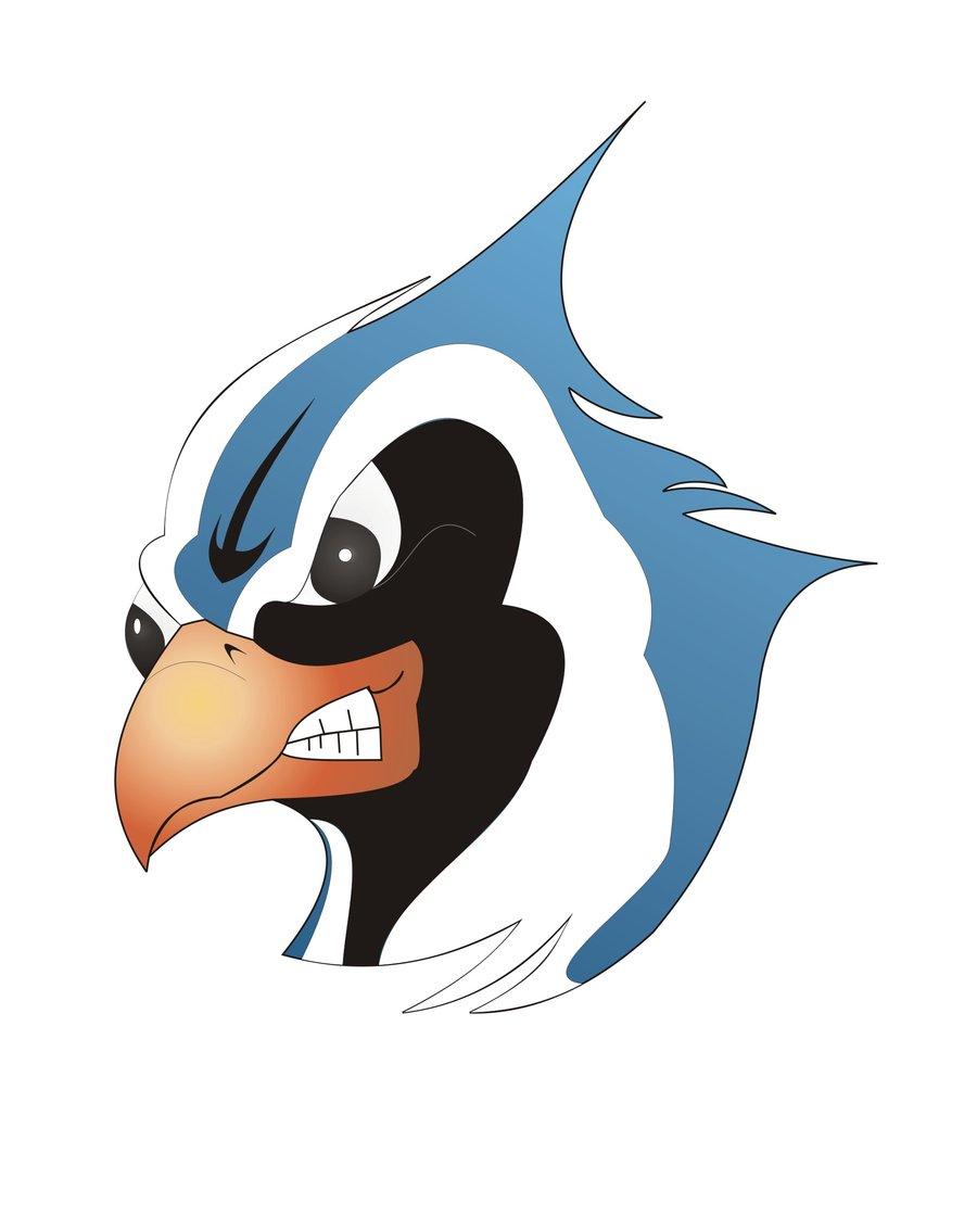 Blue Jay clipart bird face Jay protechsoft Blue Blue Jay