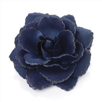 Blue Flower clipart flower head Line Blue on Elastic