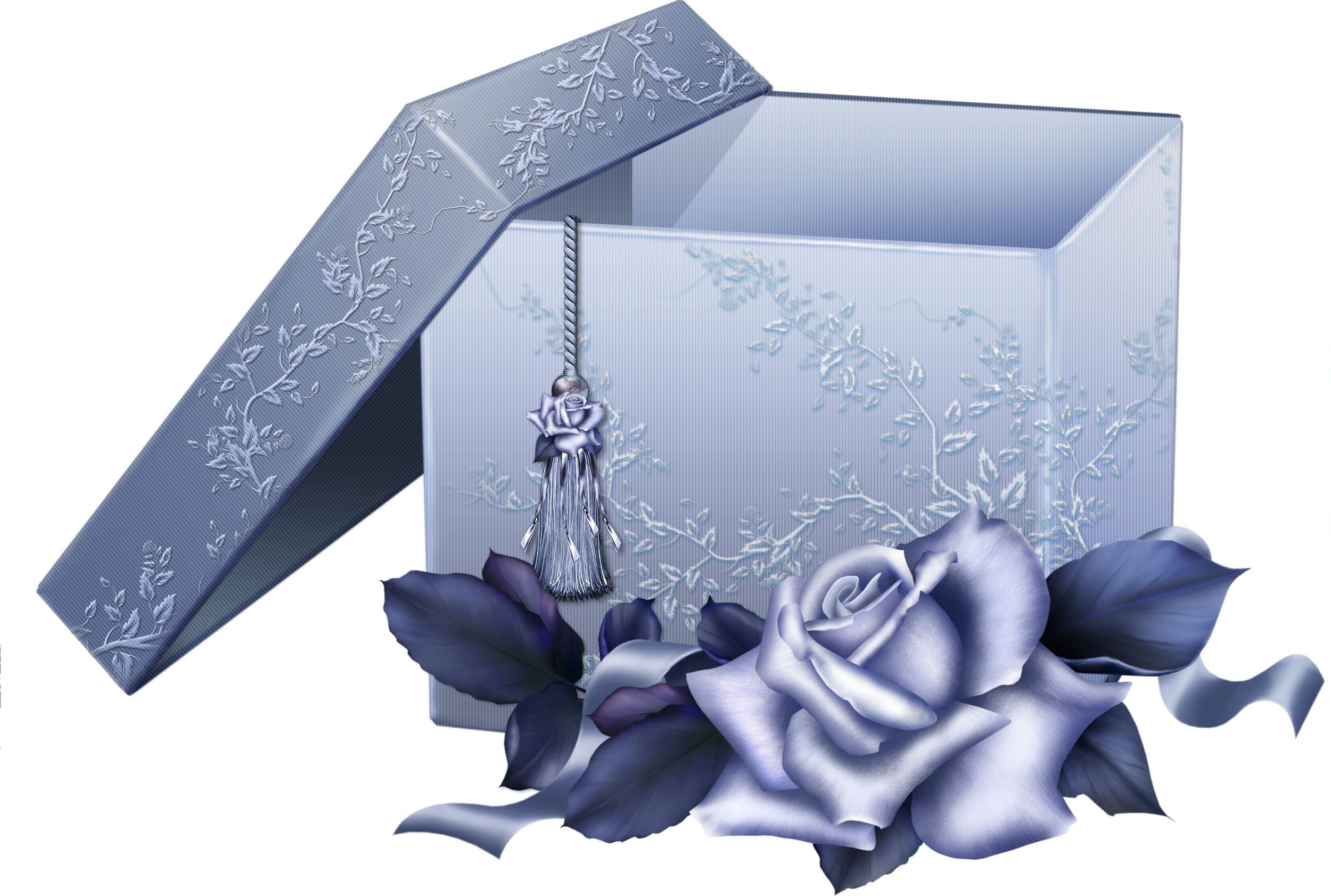 Blue Rose clipart ribbon  with View Blue Gallery