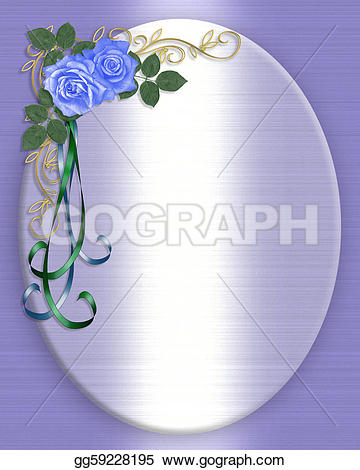 Blue Rose clipart valentine rose Like roses background Clipart Drawing