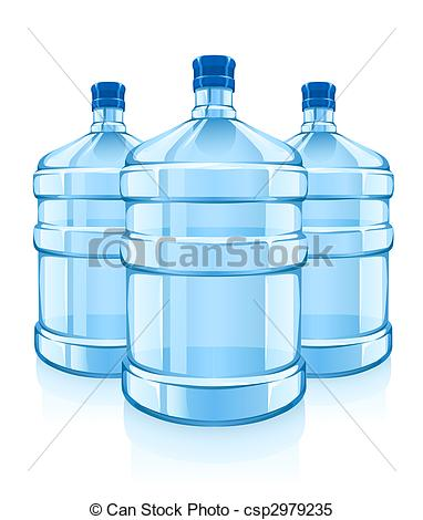 Blue Water clipart clean water Clean bottles water water with