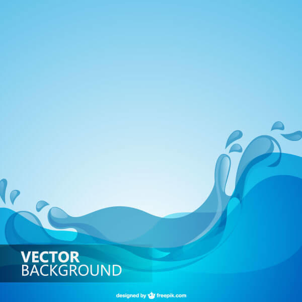 Blue Water clipart design background Clipart water clipart water background