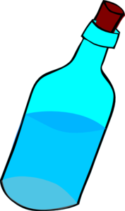 Blue Water clipart glass water Com Full vector Water Of