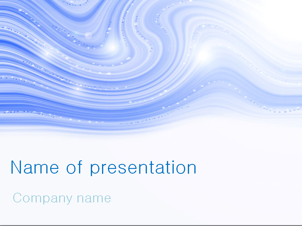 Blue Water clipart presentation background Blue Winter for free template