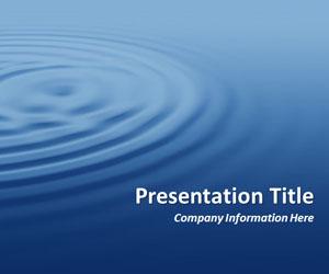 Blue Water clipart presentation background PowerPoint PowerPoint background waves professional