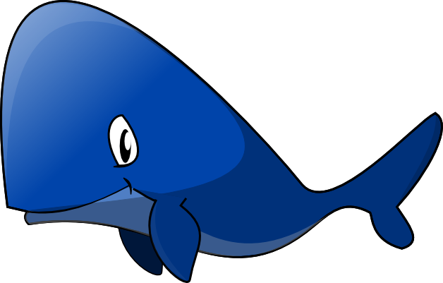 Blue Whale clipart blue starfish Art Panda Blue Free Images