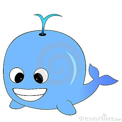 Blue Whale clipart comic Whale Lim  Dreamstime Blue