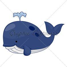 Blue Whale clipart cute baby dolphin Draw on Leda_d via dolphin