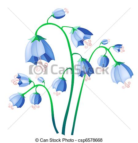Bluebell clipart Bluebell bluebell illustration bell of