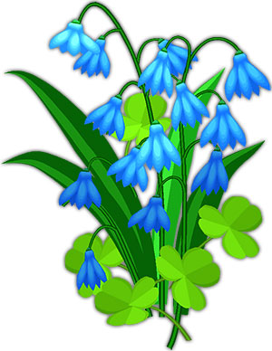 Bluebell clipart White Clipart and Flower flowers