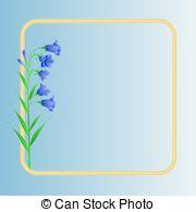 Bluebell clipart flower power 729  blue meadow Art